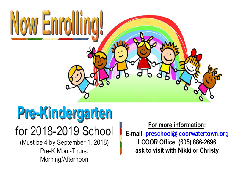 Preschool Enrollment 2018-19 update