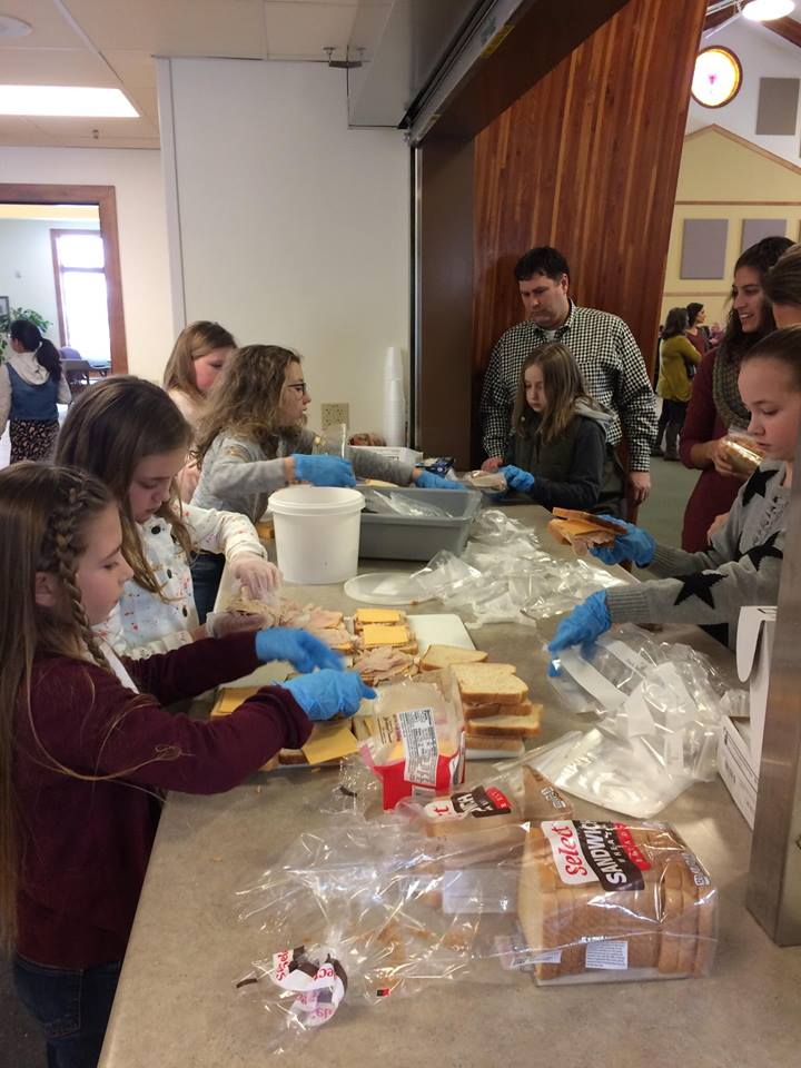 Service Project (Watertown Sandwich Ministry)